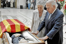 Cataluña despide con honores a Heribert Barrera