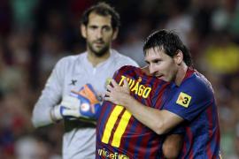 El Barça irrumpe con fuerza