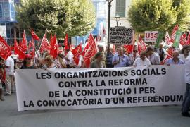 Concentración en Palma contra la reforma constitucional