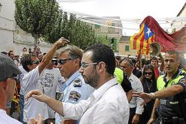 El PSOE califica la actuación policial de Sant Agustí de «auténtica vergüenza»