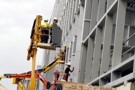 Acciona reanuda las obras del Palau de Congressos «al ritmo de la financiación»