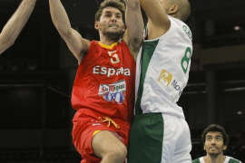 España logra ante Portugal su segunda victoria en el Europeo de Baloncesto (87-73)