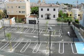 El nuevo aparcamiento del Sayonara, en El Terreno, ya está concluido