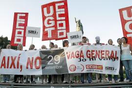 El Govern quiere eliminar el 40% de los 308 liberados sindicales y que vuelvan a sus puestos