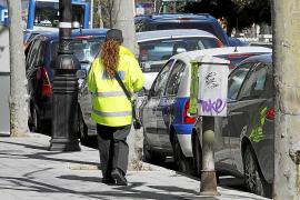 Detenido en Palma por amenazar a una auxiliar de la ORA con una escopeta
