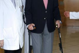 El Rey ingresa en el Hospital USP San José ser operado del tendón de Aquiles