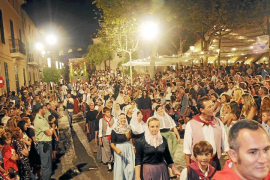 La procesión más típica de Mallorca