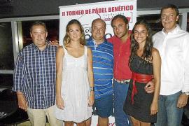 Fiesta de presentación del II Torneo de Pádel Fundación Isabel Gemio