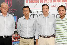 Entrega de trofeos del II Torneo de Pádel Fundación Isabel Gemio