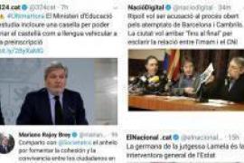 Puigdemont y los cuatro exconsejeros se reúnen en Waterloo con sus abogados