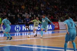 El Palma Futsal estrella su imbatilidad en Son Moix contra Herrero