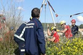 Rescatan a un hombre que pasó dos horas en un pozo con agua en Montuïri