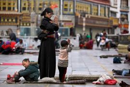 Un incendio en lo más sagrado del Tíbet