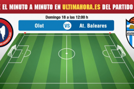 Olot-Atlético Baleares, en vivo