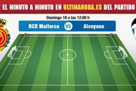 Real Mallorca-Alcoyano, en directo