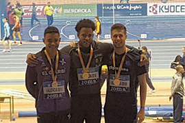 Baleares consigue un oro en la primera jornada de los Campeonatos de España de Atletismo