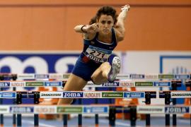 Caridad Jerez, campeona de España en 60 metros vallas por quinta vez consecutiva