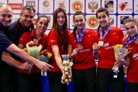 Bronce para España en el Campeonato de Europa de bádminton