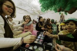 Carnaval en familia en la muella (Fotos: M. Sastre)