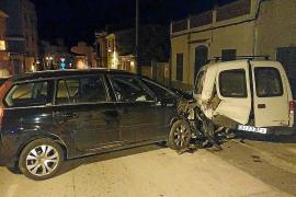 Una conductora se duerme y provoca un accidente en Andratx