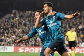 El Madrid, con doblete de Marco Asensio, golea al Betis