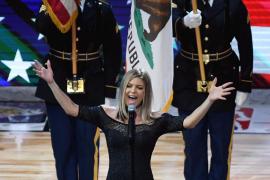 La curiosa interpretación que Fergie hizo del himno centra la atención del partido de las estrellas de la NBA