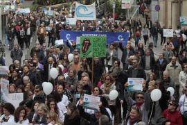 Més y PP exhiben sus discrepancias sobre la manifestación de 'Mos movem'