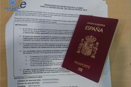 Dos detenidos por suplantación de identidad en un examen de español en Palma
