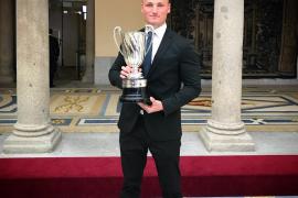Marcus Cooper recibe junto a Craviotto y Chourraut los Premios Nacionales del Deporte de 2016