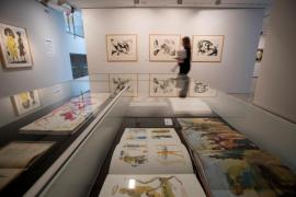 Miquel Barceló homenajea a Palau i Fabre en una exposición en Caldes d'Estrac