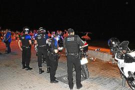 Los hoteleros y vecinos de la Playa de Palma piden más seguridad