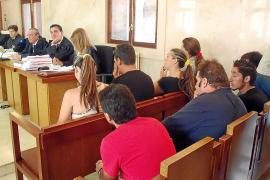 'El Ove' guarda silencio al inicio del juicio por venta de droga en Son Banya