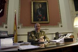 El comandante general de Baleares, Mariano Estaún,  se despide de su cargo tras dos años en Mallorca