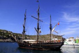 El barco de la película 'Cloud Atlas' está en el Port de Sóller