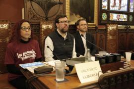 El apoyo a Valtonyc llega al pleno del Ayuntamiento de Palma