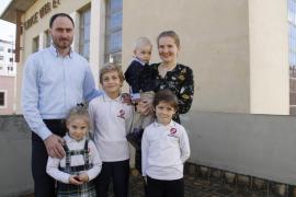 Vida familiar de un cura ortodoxo en Mallorca