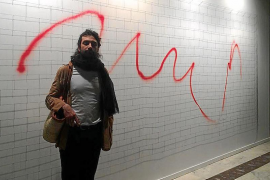 El ibicenco Adrián Martínez participa en la feria Drawing Room de Madrid