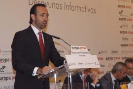 Bauzá defiende ante la cúpula del PP en Madrid su programa de Govern