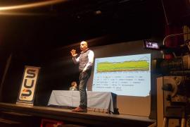 Nacho Abad, en Palma sobre Valtonyc: «La libertad de expresión tiene un límite, no todo vale»