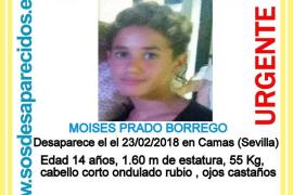 Desaparece un joven de 14 años en Camas