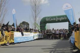 Un total de 655 personas participan en la Primera Carrera Son Espases