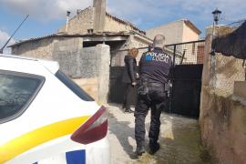 La Guardia Civil identifica a los ladrones que asaltaron el chalet de Porreres e intensifica su búsqueda