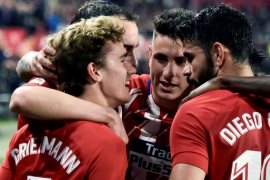El Atlético de Madrid se exhibe en Sevilla