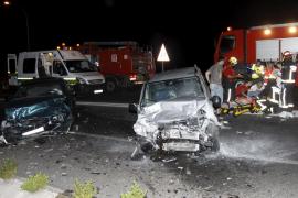 Ocho heridos, en su mayoría grave, en un accidente de tráfico en  Sa Pobla