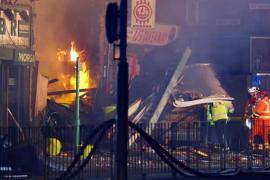 Una explosión en un edificio de Leicester deja cuatro heridos en estado crítico