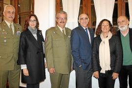 Exposición de obras del II Certamen de Pintura Militar