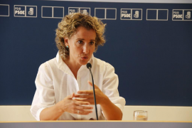 Aina Calvo anuncia su decisión de no ser candidata del PSIB en las elecciones generales