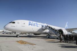 Air Europa presenta su nuevo Boeing 787-9 'Dreamliner'