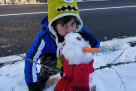 La cota de nieve se situará en los 400 metros este martes en Mallorca