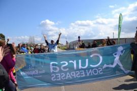 Miguel Ángel, el corredor que emocionó en la Primera Carrera de Son Espases
